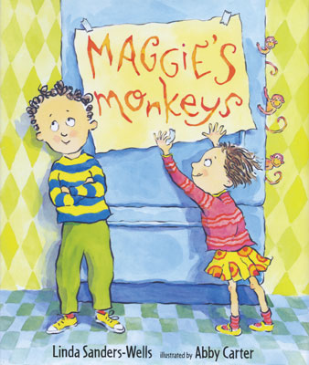 Maggie's monkeys. Copyright © 2009 Abby Carter. Candlewick Press, Inc.